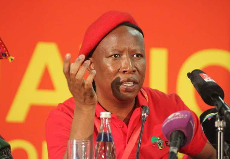 Malema calls for removal of Zim embassy in SA over Mnangagwa abuses