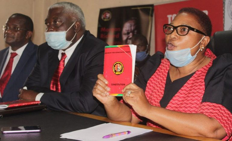Khupe suspends youth leader Gorekore who took over Harvest House