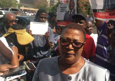 Breaking: Khupe, six others sworn-in as MPs