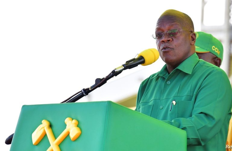 Tanzania's Magufuli Wins Landslide Re-election