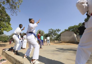 Epworth teen teaches taekwondo to fight child marriage, abuse