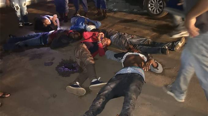 Four armed robbers killed in shootout with police