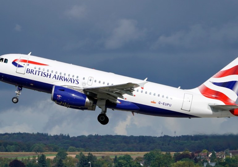 British Airways resumes flights from Johannesburg to Harare
