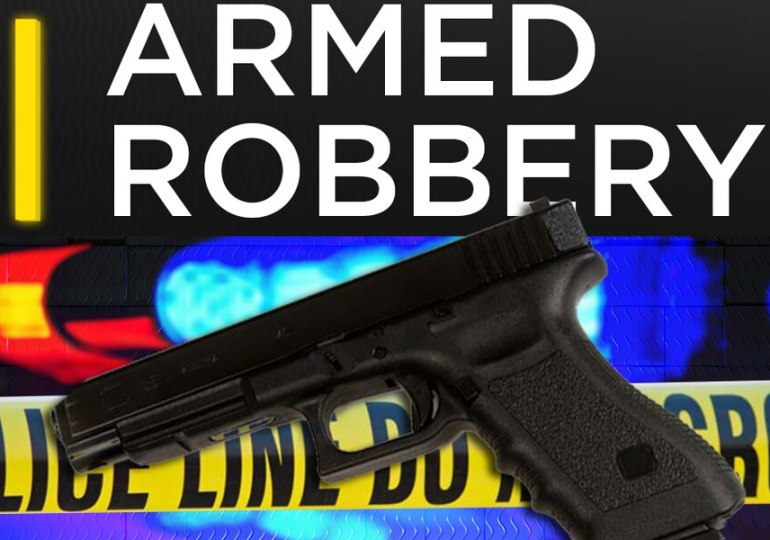 Armed robbers shoot police officers
