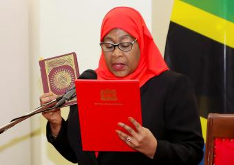 First female president urges Tanzanians to unite after death of COVID sceptic Magufuli
