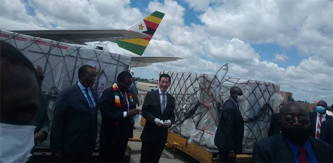 Zimbabwe receives second batch of covid-19 vaccines