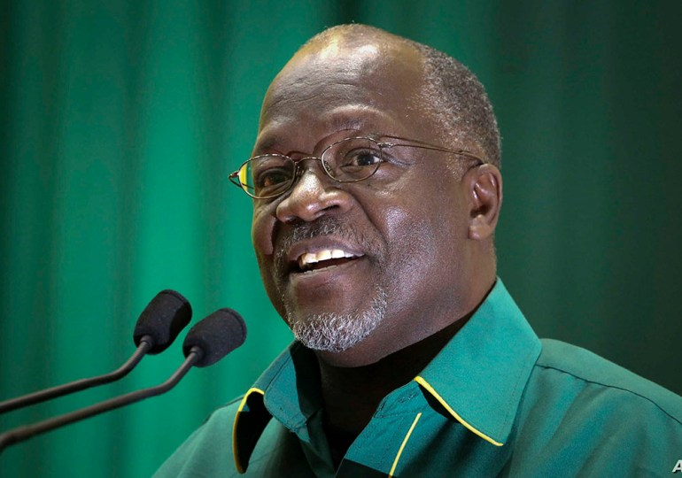 Tanzania arrests 4 people for reporting that president Magufuli is ill