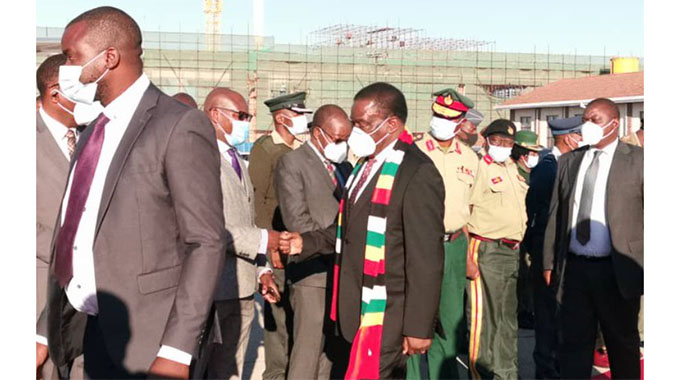 President Emmerson Dambudzo Mnangagwa leaves for Botswana