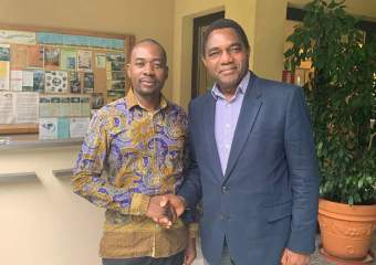 Breaking with tradition, Hichilema invites regional opposition leaders to inauguration