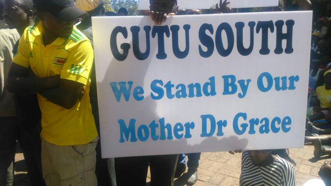 FIRST LADY GRACE MUGABE MATCH : PICTURES