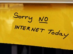 SERVICE PROVIDER SUED FOR SLOW INTERNET