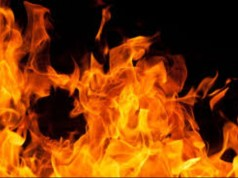 5 YEAR OLD DIES AFTER FIRE BLAZES FUEL DEALER'S HOUSE