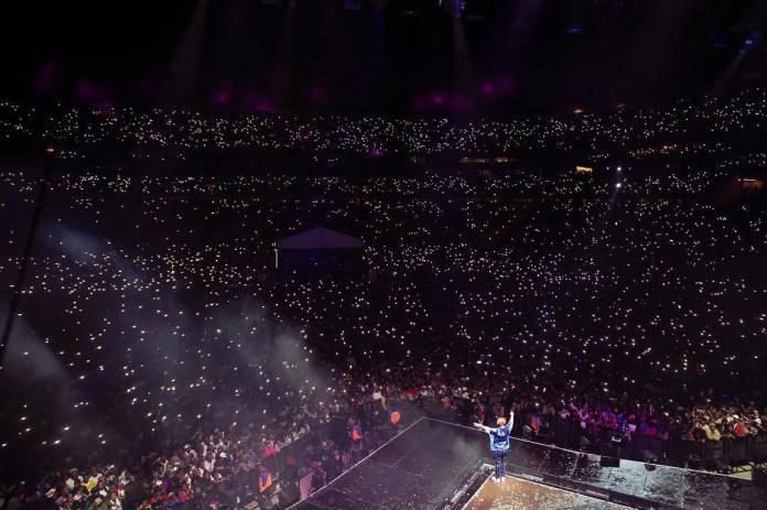 CASSPER NYOVEST MAKES HISTORY, 68 OOO TICKET SOLD