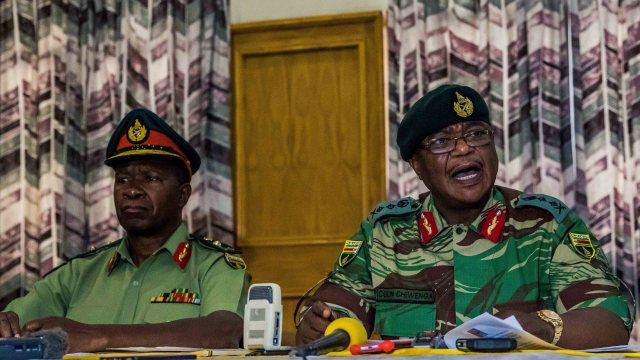 IMPLICATIONS OF CHANGES TO THE ZIMBABWE SECURITY SECTOR