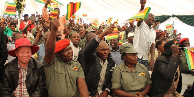 SLOGAN CHANTING SCARING AWAY POTENTIAL ZANU PF MEMBERS