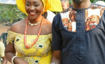 PICTURES: COUPLE MARRIED A WEEK AFTER MEETING ON FACEBOOK