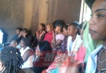 DRAMA AT THIGH VENDOR'S BURIAL CEREMONY, 'fellow mates mimick's her antics'
