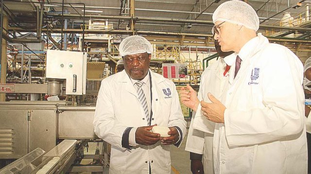 UNILEVER INVESTS $8 MILLION IN OPERATIONS