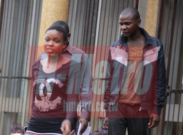 ZIM's OWN 'BONY & CLYDE' APPEAR IN COURT