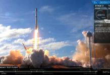 World's biggest rocket soars toward Mars after perfect launch