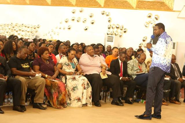 PROPHET MAGAYA PUTS $1 MILLION UP FOR GRABS IN TALENT SHOW