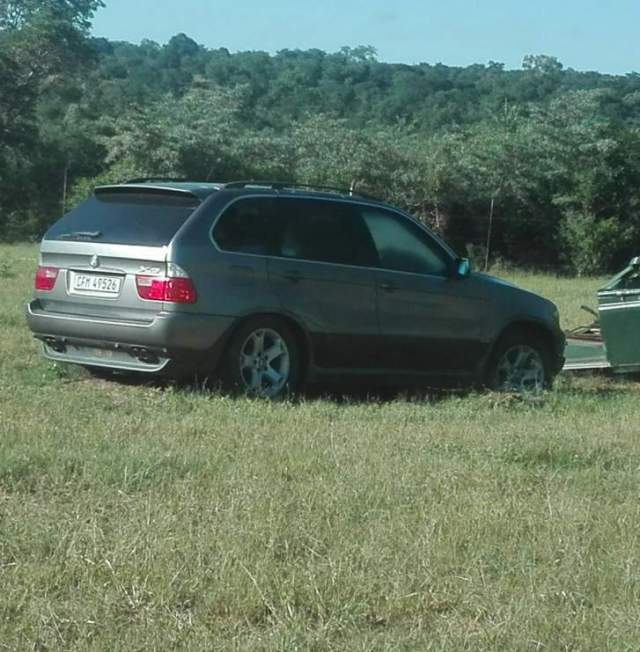 10 YEARS NOW, SAVE's BMW X5 STILL AT LUPANE ZRP