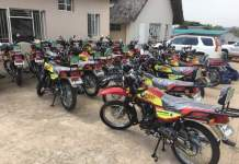 ED Presidential Campaign Motorbikes Unveiled