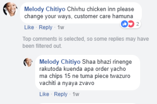 It's unfortunate to watch as the country's most beloved takeaway deteriorates, but we hope with time and new competitors in the market Chicken Inn steps up their game lest they lose out to KFC and Pizza Hut.