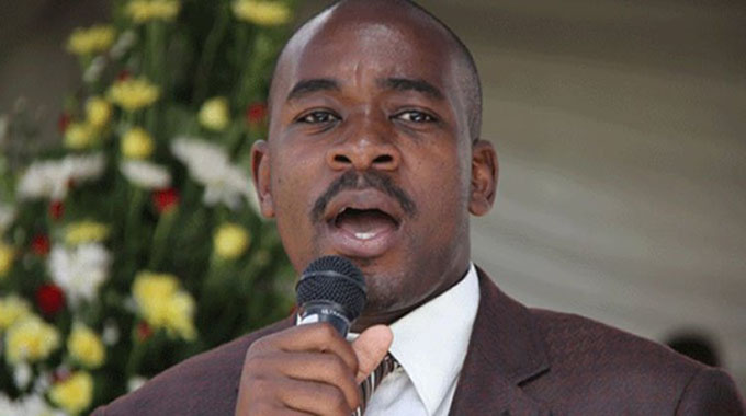 I'll boot out Chinese: Chamisa