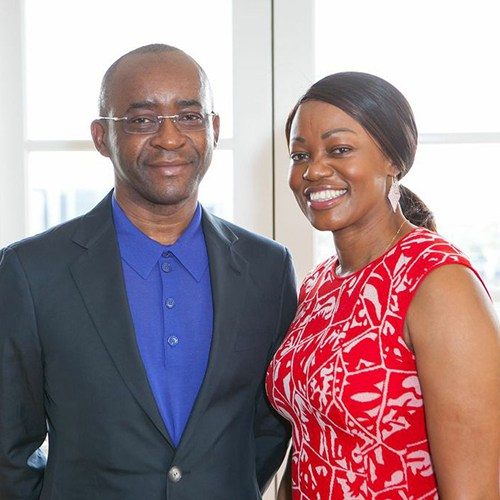 STRIVE MASIYIWA & WIFE HONORED BY BRITISH PRIME MINISTER