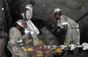 mine workers