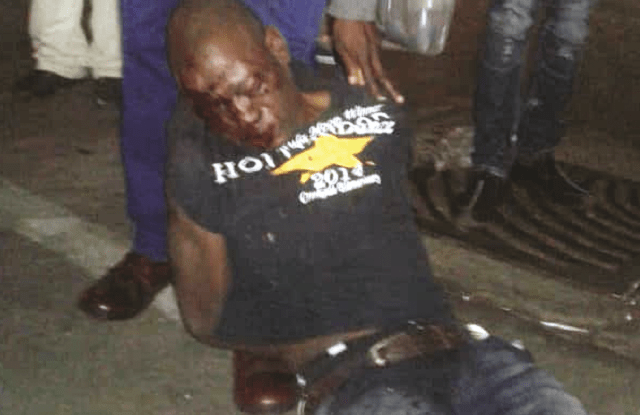 Man Suffers Mob Justice After Stabbing Thigh vendor For Being 'Tasteless'