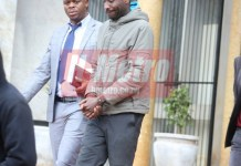 Soldier appears in court