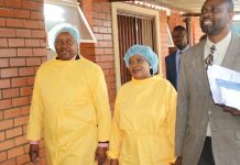 Let's unite against cholera: First Lady