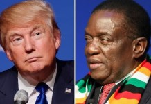 Trump-and-Mnangagwa