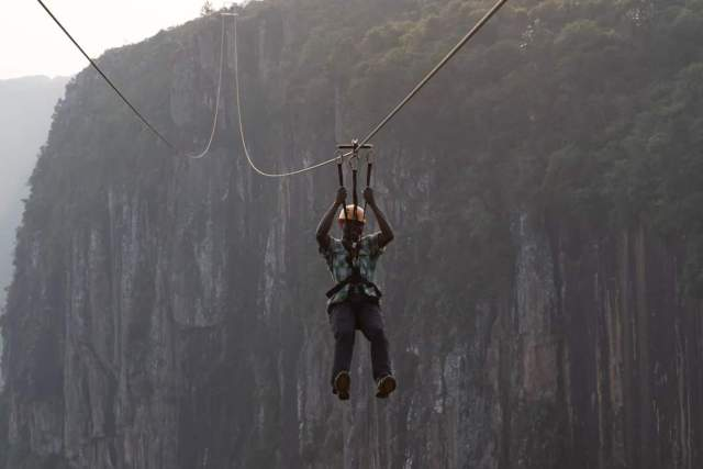 The highest zip line in the world is now open for business