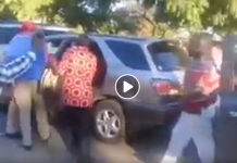Unidentified MEN Try To KIDNAP MDC Alliance President Nelson Chamisa