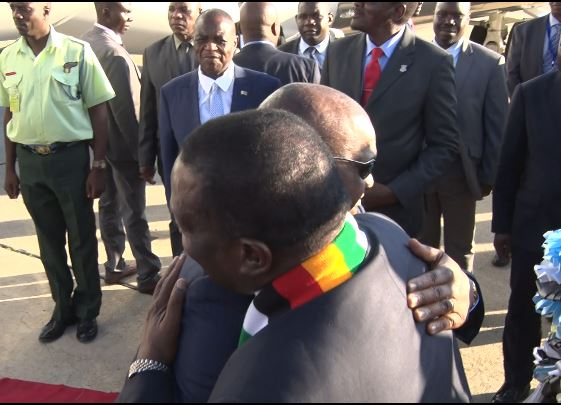 VP Chiwenga Makes First Public Appearance After Illness!