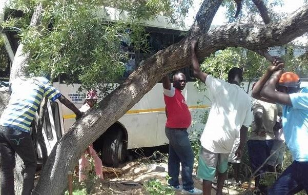 Tragedy: Bus runs over, kills two pedestrians