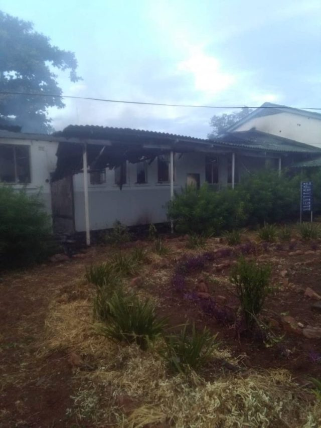 Fire Guts Kariba Hospital: UPDATED