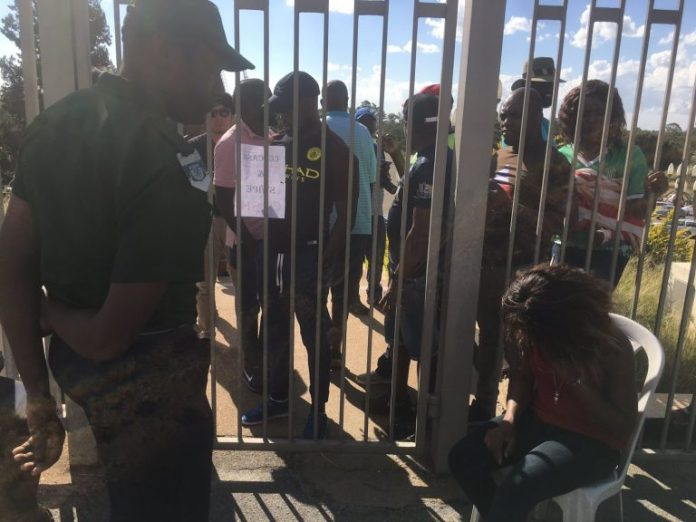 Football Fans Stranded Outside Gates As Econet System Fails