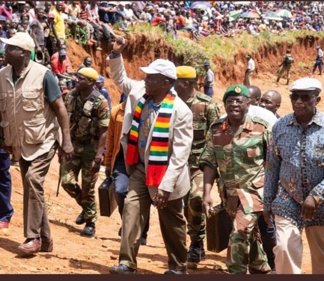 """Mnangagwa Claims Damage Was Done By Unexplained Tremors Which Brought """"Foreign Rocks"""" Before Cyclone Idai Arrived"""