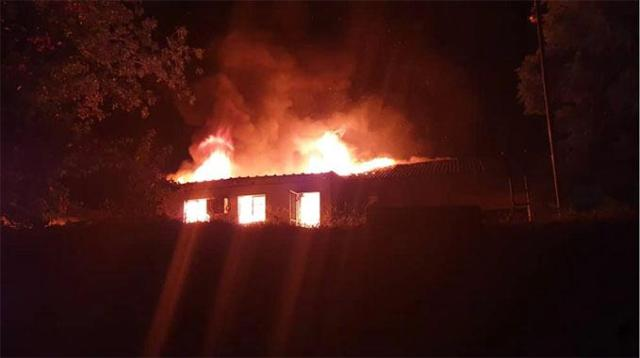 Fire Guts Kariba Hospital