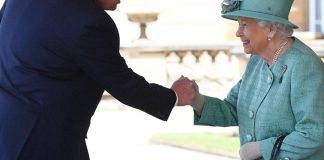 Donald and The Queen