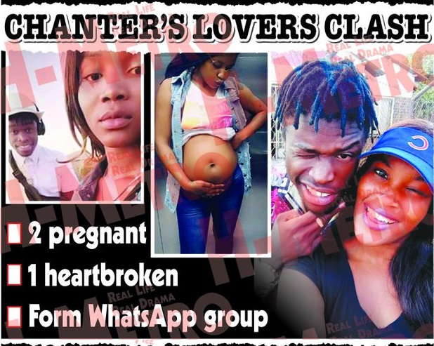 Bazooker in a nasty love triangle, Pregnant Girlfriend's At Each-Other's Throats
