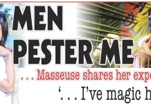 Men Pester Me, Masseuse Shares Experience