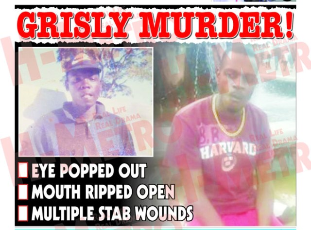 GRISLY MURDER ...Shurugwi man killed in cold blood