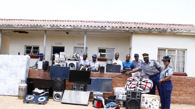 Police recover $300k stolen household property in raid