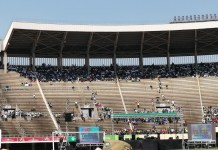 Mnangagwa addresses concrete at National Sports Stadium!, As Sanctions Demo Flops