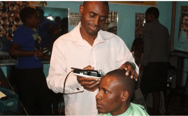 Prophet Famous For 'Having A Braai With God' Turns To Barber Work